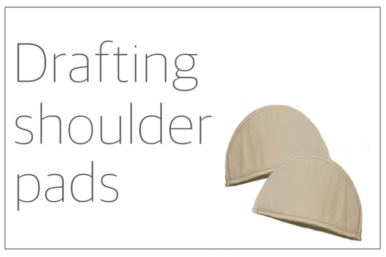 Read more about the article Drafting shoulder pads