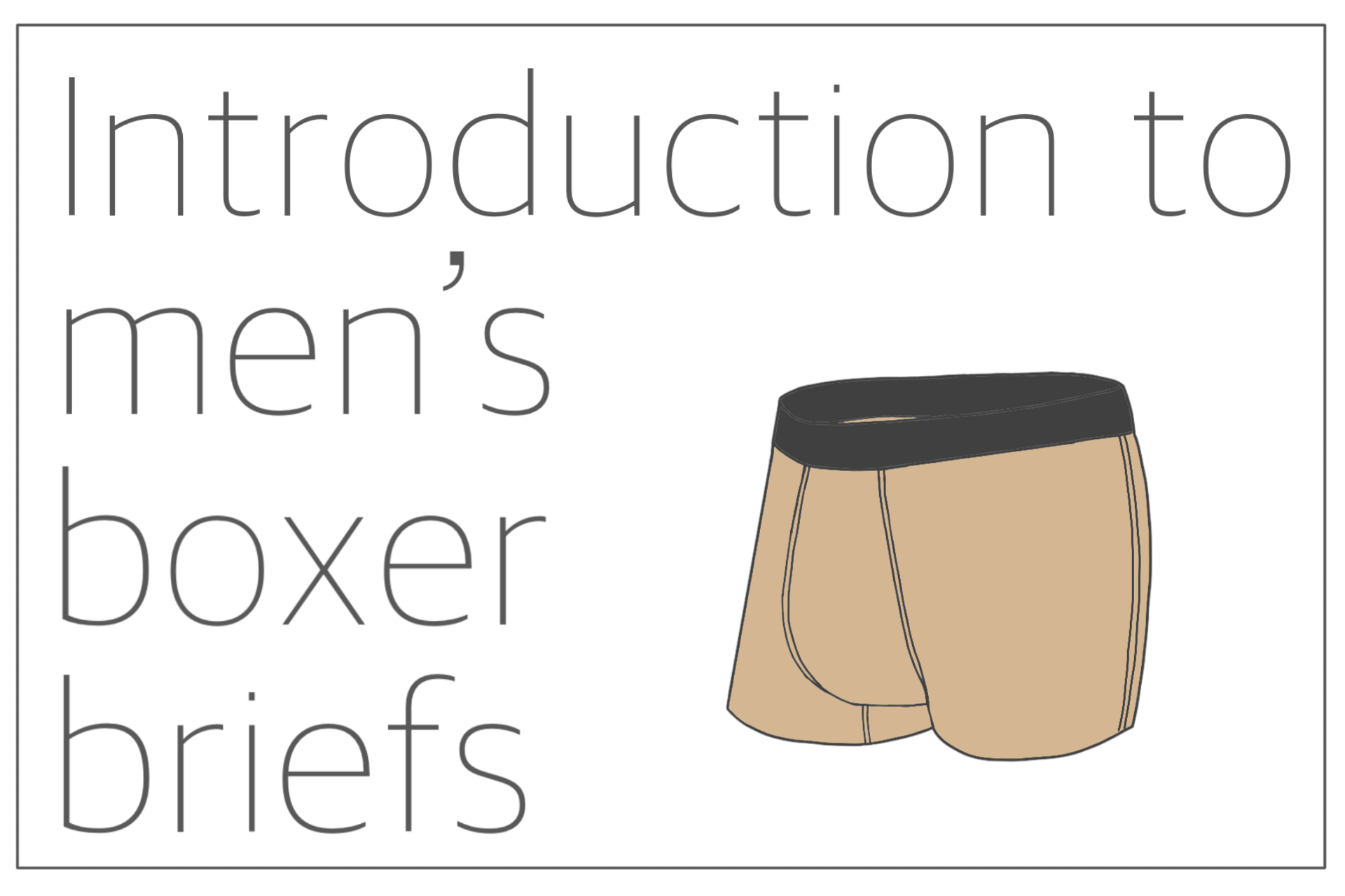 You are currently viewing Introduction to men's boxer briefs