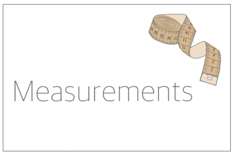 Read more about the article Measurements